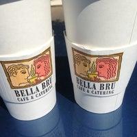 Photo taken at Bella Bru Cafe by Jeff P. on 5/19/2013