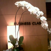 Photo taken at PURA INDAH First & Business Class Lounge by Christma S. on 5/1/2013
