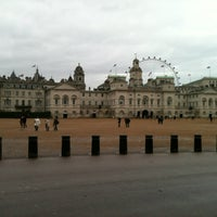 Photo taken at Horse Guards Parade by Antonio M. on 12/28/2012