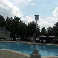 Photo taken at Congress Park Pool by David S. on 10/10/2012