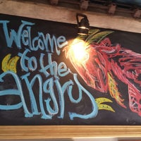 Photo taken at The Angry Goat Pub by Steven M. on 4/24/2014