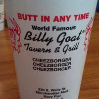 Photo taken at Billy Goat Tavern & Grill by Chris R. on 3/30/2013