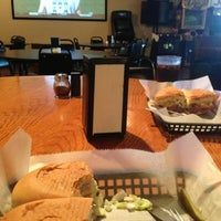 Photo taken at Greek Tony's Pizza & Sub Shop by Erica A. on 8/17/2013