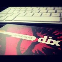Photo taken at DIX Digital Agency by Felix S. on 10/8/2012