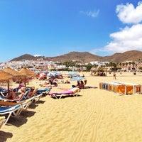 Photo taken at Playa de San José by Oscar O. on 8/8/2013