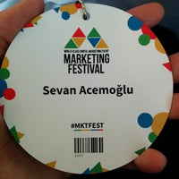 Photo taken at Marketing Festival Headquarters by Sevan a. on 11/1/2014