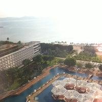 Photo taken at Ambassador City Jomtien Hotel by Apostrophe E. on 10/27/2012