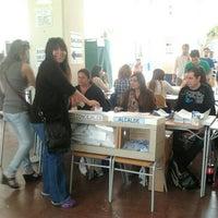 Photo taken at Escuela Salvador Sanfuentes D-88 by Raúl P. on 10/28/2012