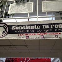 Photo taken at Conciente Tu Radio by Guimel M. on 12/27/2012