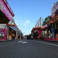 Photo taken at Unges Pengste Kirmes by Florian B. on 5/18/2013