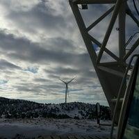 Photo taken at Güriş Holding 115 MW Dinar Rüzgar Enerji Santralı by Devran B. on 1/4/2017