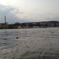 Photo taken at Lodě na vodě by Luca R. on 4/17/2013