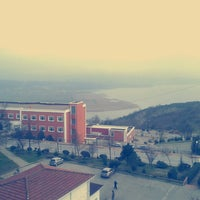 Photo taken at Sakarya University by Damla A. on 2/14/2013