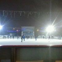 Photo taken at Patinoarul Drumul Taberei by Zardoz T. on 12/18/2012