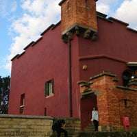 Photo taken at Fort San Domingo by Zhiliang S. on 2/1/2013