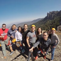 Photo taken at Via Ferrata Hidalgo Adventure by Gina M. on 12/27/2017