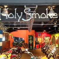 Photo taken at Holy Smoke Cafe by Faiezal K. on 10/24/2013