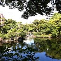 Photo taken at Kyu-Yasuda Garden by Yoko O. on 9/29/2012