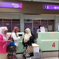 Photo taken at TG Chink-in @ Hatyai International Airport by Khumracha S. on 11/27/2014