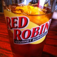 Photo taken at Red Robin Gourmet Burgers by Mike L. on 4/27/2013