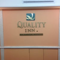 Photo taken at Quality Inn Euless by James W. on 6/26/2013