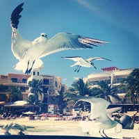 """Photo taken at Hotel Colibrí Beach by """"Laseev.com📲 A. on 2/17/2014"""