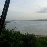 Photo taken at Lam Takong Dam by Wanlaya M. on 6/10/2013