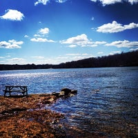 Photo taken at Amston Lake by Billy G. on 4/9/2014