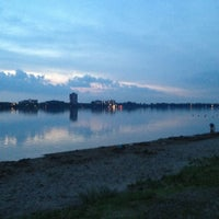 Photo taken at Lake Calhoun by Lianna シ on 7/15/2013