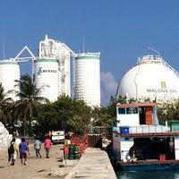 Photo taken at Thilafushi ferry terminal- Thilafushi by Ali R. on 3/1/2014