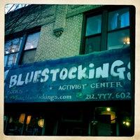Photo taken at Bluestockings by LaLa S. on 1/20/2013