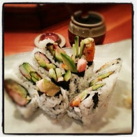 Photo taken at Hiro Sushi Restaurant by Justin C. on 11/16/2012