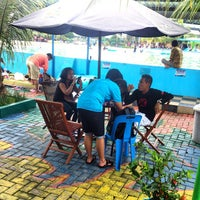 Photo taken at Hairos Indah Waterpark by Fuja B. on 9/7/2014