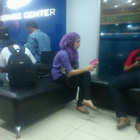 Photo taken at Samsung Service Center by Fuja B. on 2/11/2014