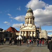10/28/2012 tarihinde Jens S.ziyaretçi tarafından Französischer Dom'de çekilen fotoğraf
