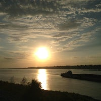 Photo taken at The Mighty Mississippi River by Chuck . on 10/14/2012