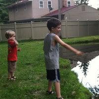 Photo taken at Ramblewood Pond by Nikki O. on 6/23/2013