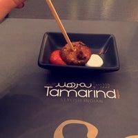 Photo taken at Tamarind Indian Restaurant by Aeynaa. 1. on 1/3/2016
