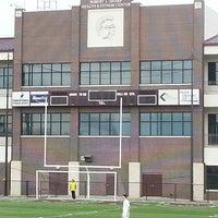 Photo taken at Jenks High School Football Stadium by John B. on 2/16/2013