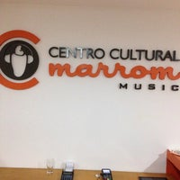 Photo taken at Centro Cultural Marrom Music by Glauce F. on 4/16/2015