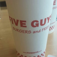 Photo taken at Five Guys by Kimm F. on 10/5/2013