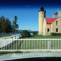 Photo taken at Old Mackinac Point Lighthouse by Dartanion T. on 9/17/2013