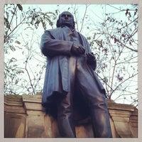 Photo taken at Isambard Kingdom Brunel statue by Sarah O. on 12/30/2013