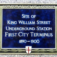 Photo taken at King William Street Tube Station (Disused) by Sarah O. on 10/3/2012