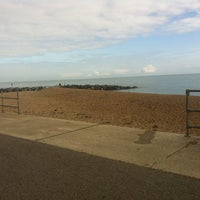 Photo taken at Mermaid Beach by Sarah O. on 9/27/2014