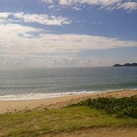 Photo taken at Praia da Penha by Ricardo H. on 4/25/2013
