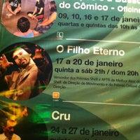 Photo taken at Teatro Funarte Plínio Marcos by Alexandre P. on 1/18/2013