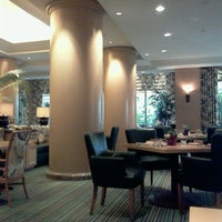 Photo taken at Palm Terrace Restaurant, Island Hotel by Ekaterina V. on 10/11/2012