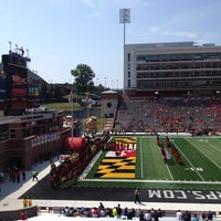 Photo taken at Capital One Field at Maryland Stadium by Arnaldo R. on 8/31/2013