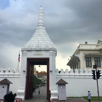 Photo taken at Wiset Chai Si Gate by jajaa on 10/22/2017